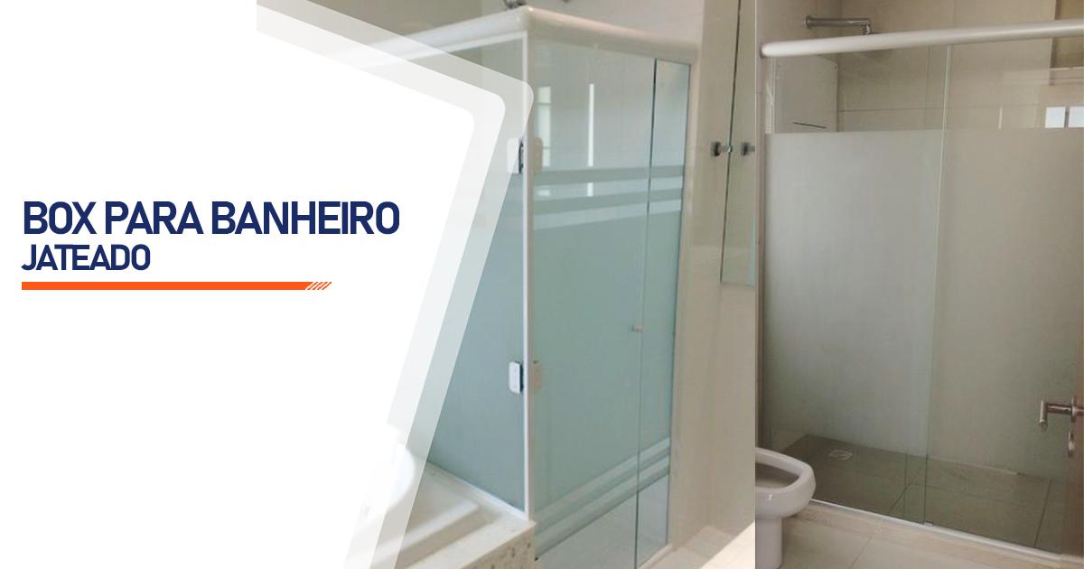 Box Jateado para Banheiro Uberlândia