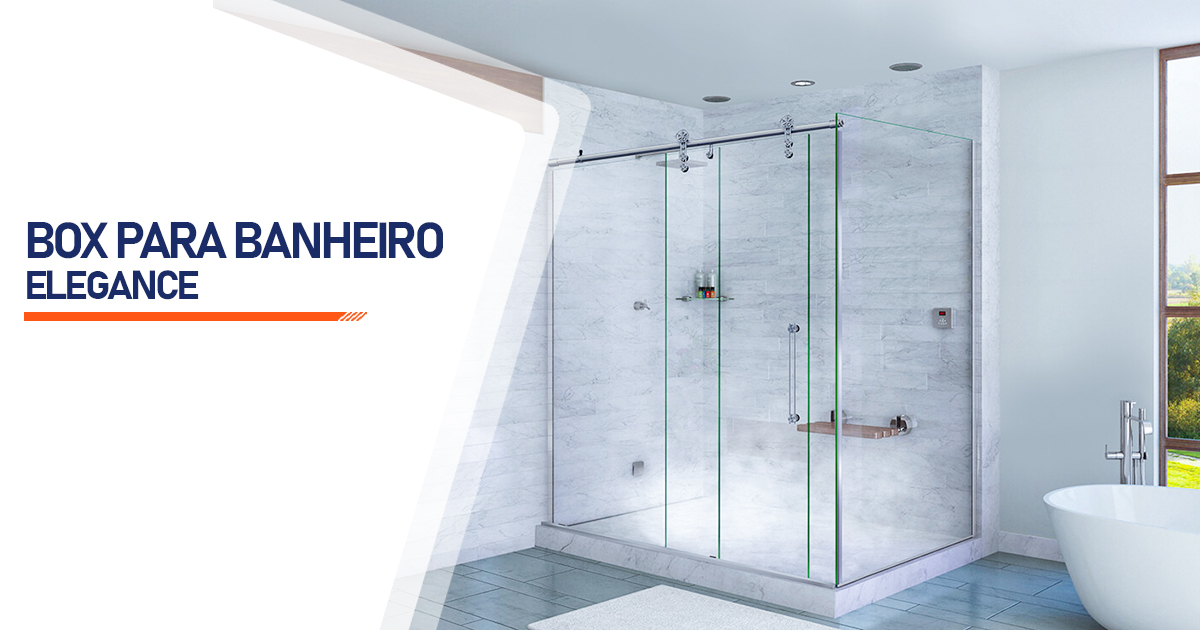 Box para Banheiro Elegance  Uberlândia
