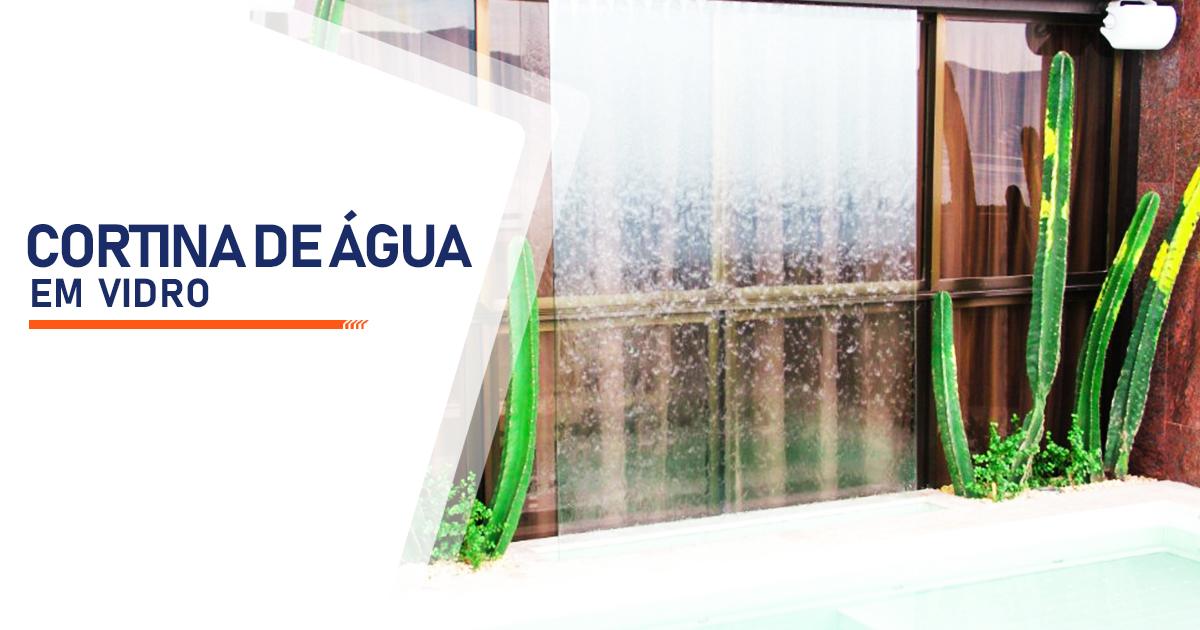 Cortina de Agua em Vidro Uberlândia